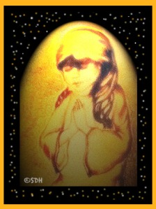 Little Praying Girl © S.D. Harden All Rights Reserved.