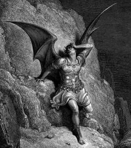 Gustave Dore Lucifer The Fallen Angel