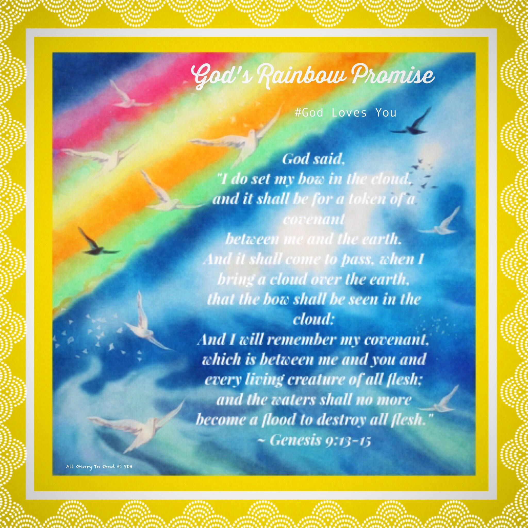 Gods Rainbow promise