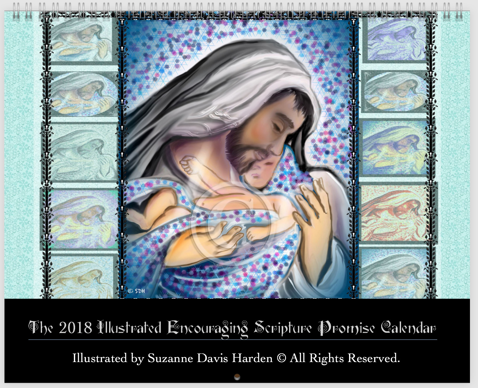The 2018 Bible Promise Calendar  © SD Harden All Rights Reserve
