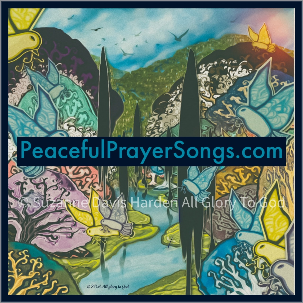 Peaceful Prayer Songs Website Button