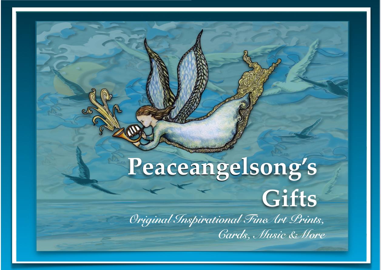 link to PeaceAngel Song's online store